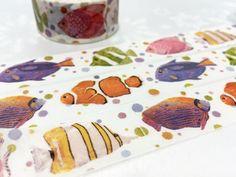 Colorful Fish tape 10M tropical fish crown fish by TapesKingdom