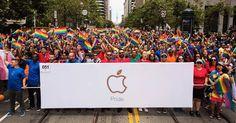 Apple célèbre sa présence à la Gay Pride 2017 à San Francisco New York et Toronto