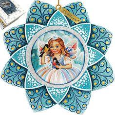 Fairy Snowflake Ornament