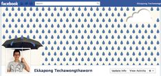 Facebook timeline designs that make cool use of the cover photo. via Mashable