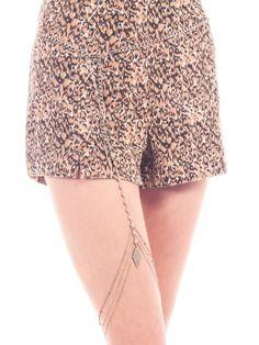The Cat's Meow Silver Leg Piece - Body Chains Boho Shorts, Casual Shorts, Vanessa Mooney, Body Jewellery, Festival Fashion, Coachella, Boho Jewelry, Body Chains, Jewels