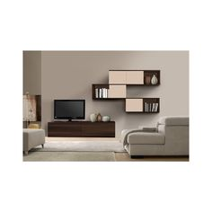 Modloft Catania Wall Unit - Media Unit