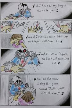 Knife game~ (Part 5)