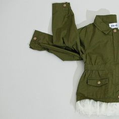 Military Frills  Cutest Jacket Ever!