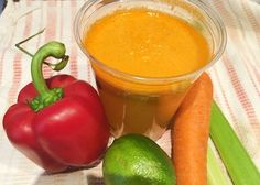 Sweet September Juice | Reboot With Joe INGREDIENTS: 2 carrots 3 celery stalks 1/2 red bell pepper (capsicum) 1 lime