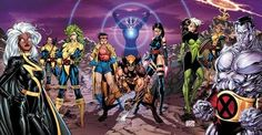 Magneto and Family — X-Men Jim Lee Poster Tribute Various Artist Marvel Comics Art, Marvel X, Marvel Heroes, Captain Marvel, Comic Book Characters, Comic Character, Comic Books Art, Book Art, Jack Kirby
