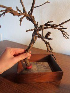 Jewelry Tree (DIY)  tutorial using plaster of paris