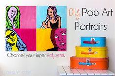 Seams Unbiased: DIY Pop Art Portraits