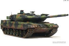 MMZ - Alman tank Leopard 2 A6