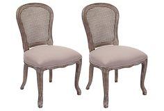 Lucy Side Chairs, Pair on OneKingsLane.com