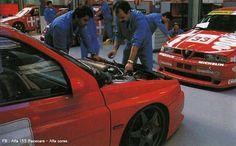 Alfa Romeo 155, Touring, Cool Cars, Race Cars, Racing, Vehicles, Classic, Sports, Drag Race Cars