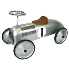 Great Gizmos Classic Racer Ride-On - Silver: Amazon.co.uk: Toys & Games - Timo's Birthday