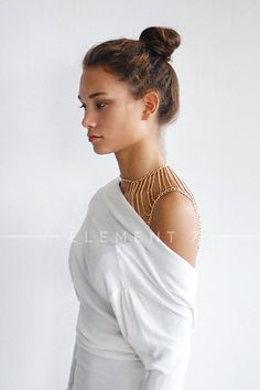 Waterfall Shoulder chain Shoulder chain jewelry by Element7Style, $64.00