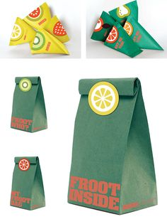Good FrootFresh and dried fruits packaging design for local greengrocer