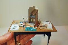 Miniature Miniatures - Nell Corkin: May 2011