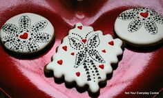 Valentine's Day Cookies ~ Not Your Everyday Cookie