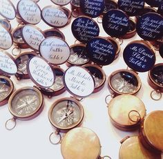 Adorable Escort Card Compass Idea For A Travel Themed Wedding Available From Wee
