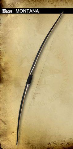 Traditional Bows | Montana Longbow | Bear Archery | #60 Draw