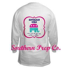 Republican girls shirt!