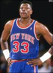 Ewing will always be my favorite Knick
