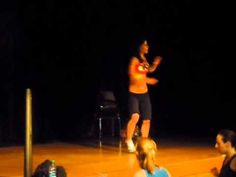 "Zumba/Salsa - ""Quimbara"" Totally impressed with this girl's routines!"