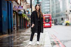 Spotted in London: Chloe Orifice shot by Sandra Semburg #meyba #meybabarcelona #boulevard #streetstyle