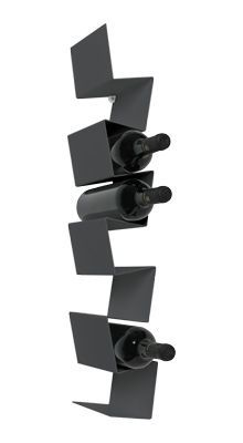 Morfo :: ZIIGZAAG wine (black). Danish Design