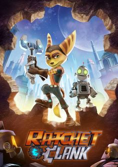 Ratchet and Clank Poster - http://www.watchmoviesonlineone.com/watch-ratchet-clank-online/