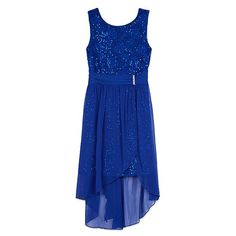 You'll look exceptional in this girls' IZ Amy Byer sequin and lace sheath dress. Scoop Neck Dress, Girls Dresses, Summer Dresses, Lace Sheath Dress, Holiday Dresses, High Low, Amy, Sequins, Michigan