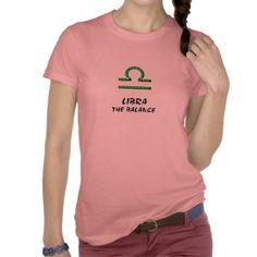 Libra the balance shirt