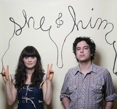 she and him - oh zooey, everything about you just screams adorable.