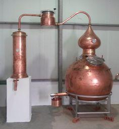 Hoga pot still for Kianda Distillery, Kianda, Angola