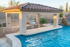 As the pool isn't built into the ground, it's easily transferable once you move home. A pool is the greatest backyard amenity. If you believe you are prepared to construct your own pool, start looking for inspiration online and you… Continue Reading → Swimming Pool Landscaping, Luxury Swimming Pools, Luxury Pools, Dream Pools, Swimming Pool Designs, Backyard Pool Designs, Small Backyard Pools, Backyard Patio, Outdoor Pool