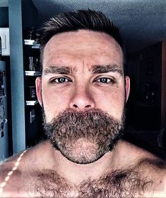 All about the stache Hairy Hunks, Hairy Men, Bearded Men, Beard No Mustache, Beard And Mustache Styles, Hair And Beard Styles, Great Beards, Awesome Beards, Manish