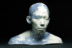 What do you get when you mix traditional Western portraiture with Eastern decorative design? Something that's both haunting and beautiful. Chinese artist Ah Xian explores the human form by creating busts of his family members – including his wife, father, and brother – then paints them over with iconic Chinese blue and white porcelain designs. […]