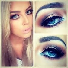 Image result for dramatic smokey eye for blue eyes