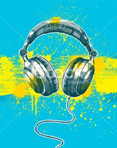 Microphone Grunge Design Royalty Free Stock Vector Art Illustration