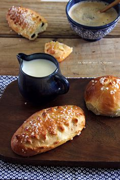 petits pains au lait & au chocolat