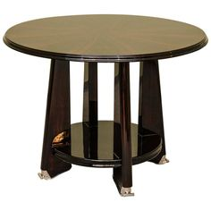 Art Deco Side Table in Macassar | From a unique collection of antique and modern side tables at https://www.1stdibs.com/furniture/tables/side-tables/