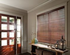 10 Dynamic Cool Tricks: Blinds For Windows Sliding Doors cordless bamboo blinds.Kitchen Blinds Modern bedroom blinds and curtains. White Wood Blinds, Faux Wood Blinds, Bamboo Blinds, Bedroom Blinds, Diy Blinds, Shades Blinds, Blinds Ideas, Fabric Blinds, Master Bedroom