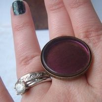 Nubar Moon Eclipse Ring: Custom