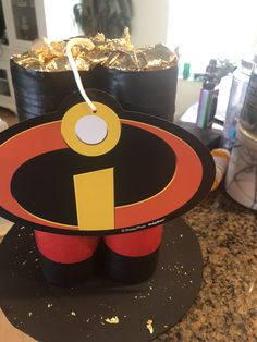 Incredibles 2 centerpieces Second Birthday Ideas, First Birthday Parties, 5th Birthday, Birthday Party Themes, First Birthdays, Incredibles Birthday Party, Minion Birthday, Birthday Party Centerpieces, Baby Party