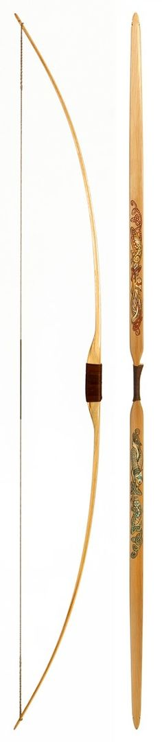 KELLS BOW hickory-backed hickory longbow, design copyright Egan&Ives, LLC 2015