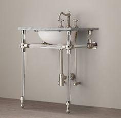 Gramercy Powder Glass Washstand