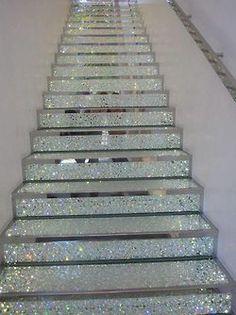 Glitter stairs!!