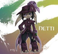 GW2: Detti the Asura by Qvi on DeviantArt