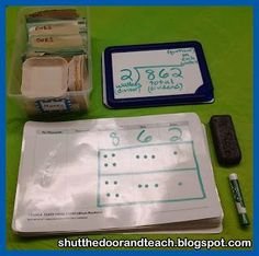 This blog post tells how to teach #LongDivision using place value mats and play money.  A nice alternative to place value blocks for fourth graders!