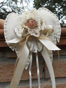 Cute folk art angel doll.