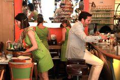 NYC Restaurants—Cool Waitresses In NYC Restaurants