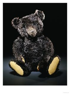 ~ A rare black Steiff teddy bear circa 1912 ~